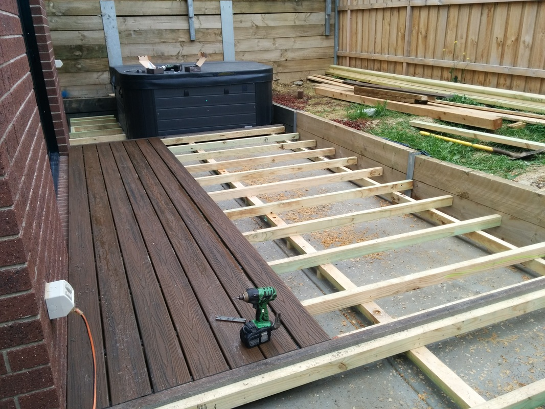Bunnings Fake Turf Decking Viv And Kez Build A Home