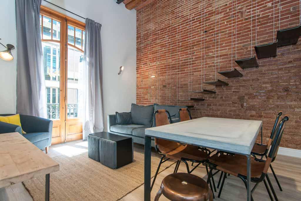 Reforma e interiorismo decoracion eixample barcelona - Studio barcelona muebles ...