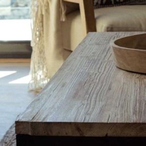 detalle madera salón