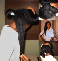 HOW I GREW WAIST LENGTH RELAXED HAIR IN 4 YEARS  Vivianne