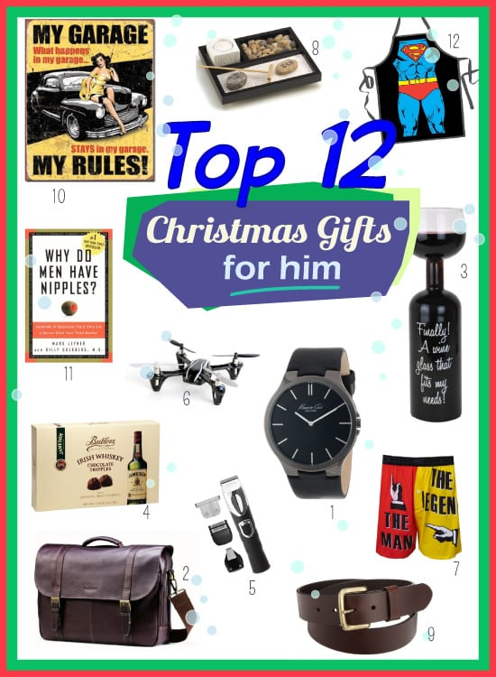 Top Christmas Present Ideas For Him Vivid 39 S