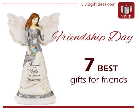 Friendship Day Gifts for Her When you're looking for great gifts for friends who are of the female persuasion, you have a whole host of possibilities. The best gifts for friends who are women include personalized kitchenware or glassware, home décor, and even jewelry.