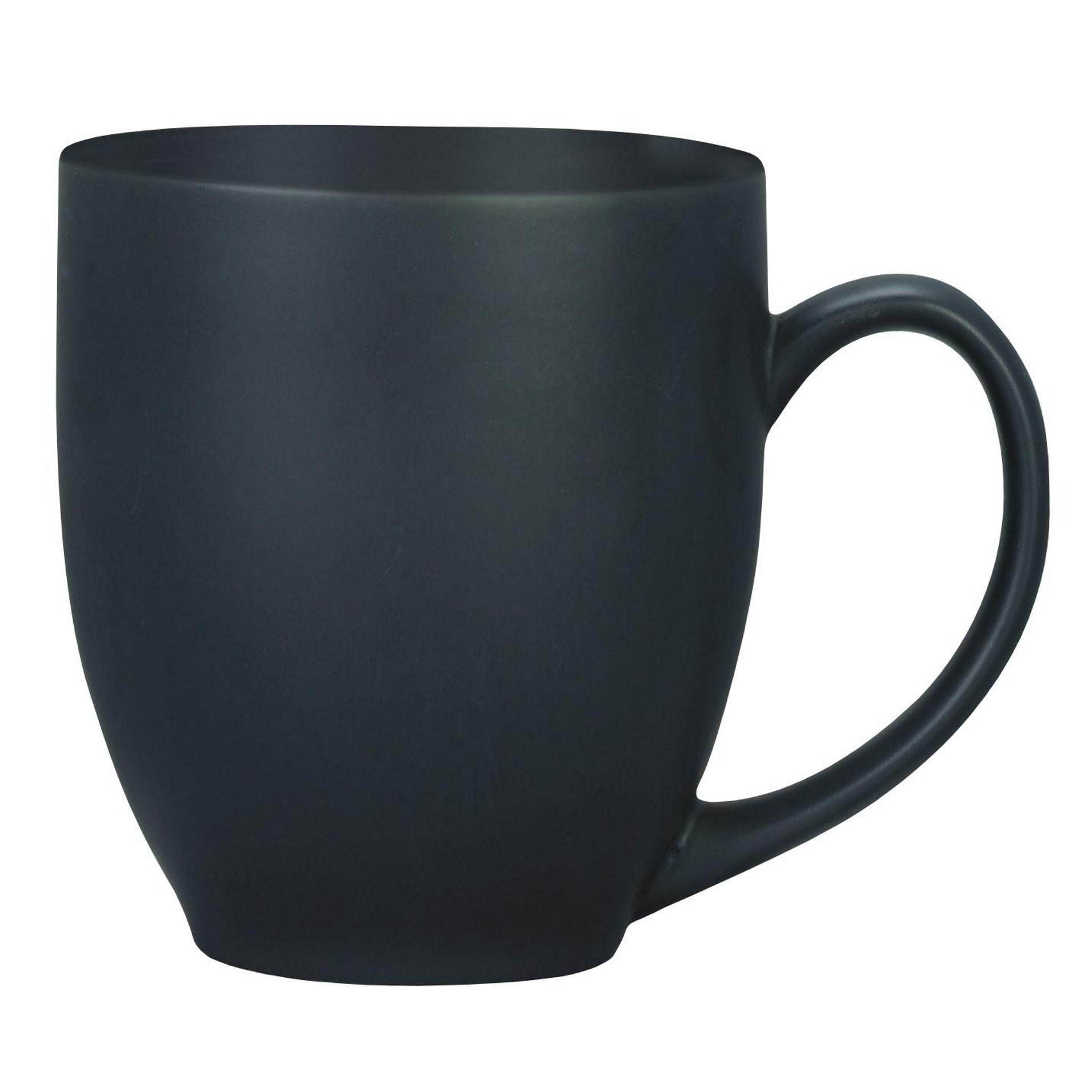 Mug That Says Coffee Manhattan Coffee Mug Matte Black Curve Shaped Mug Solid