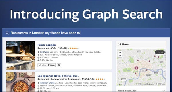 Facebook Introducing Graph Search