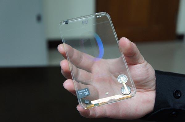 Transparent Smartphone