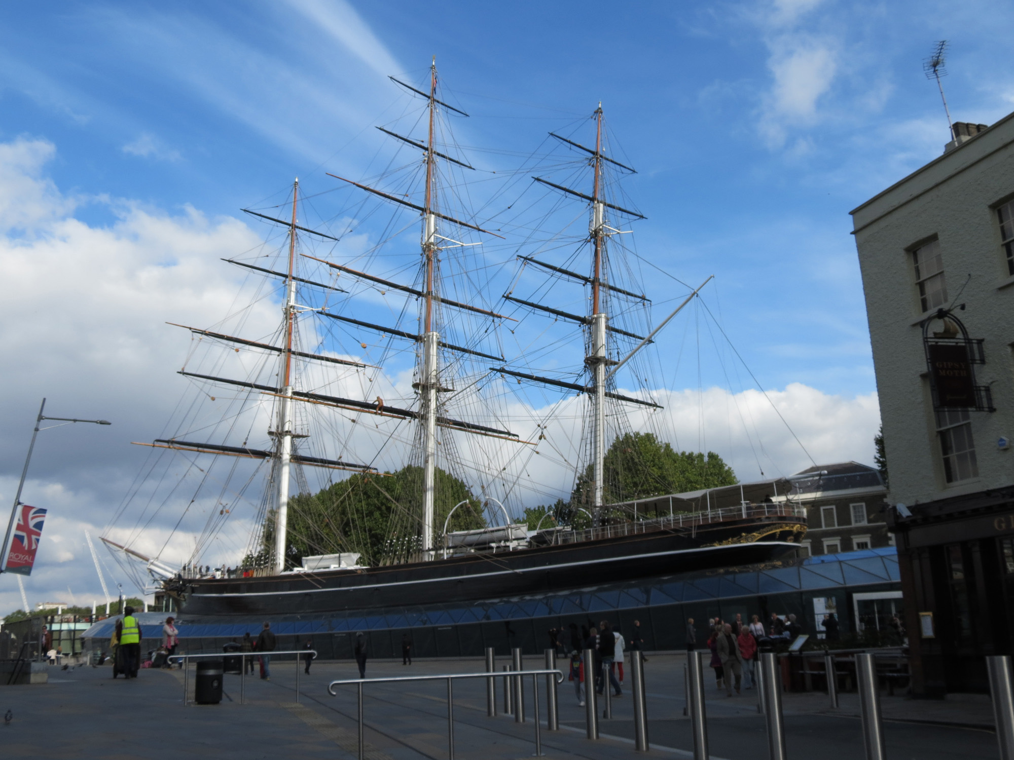 Cutty Sark Britains Historic Cutty Sark Around And About With Viv