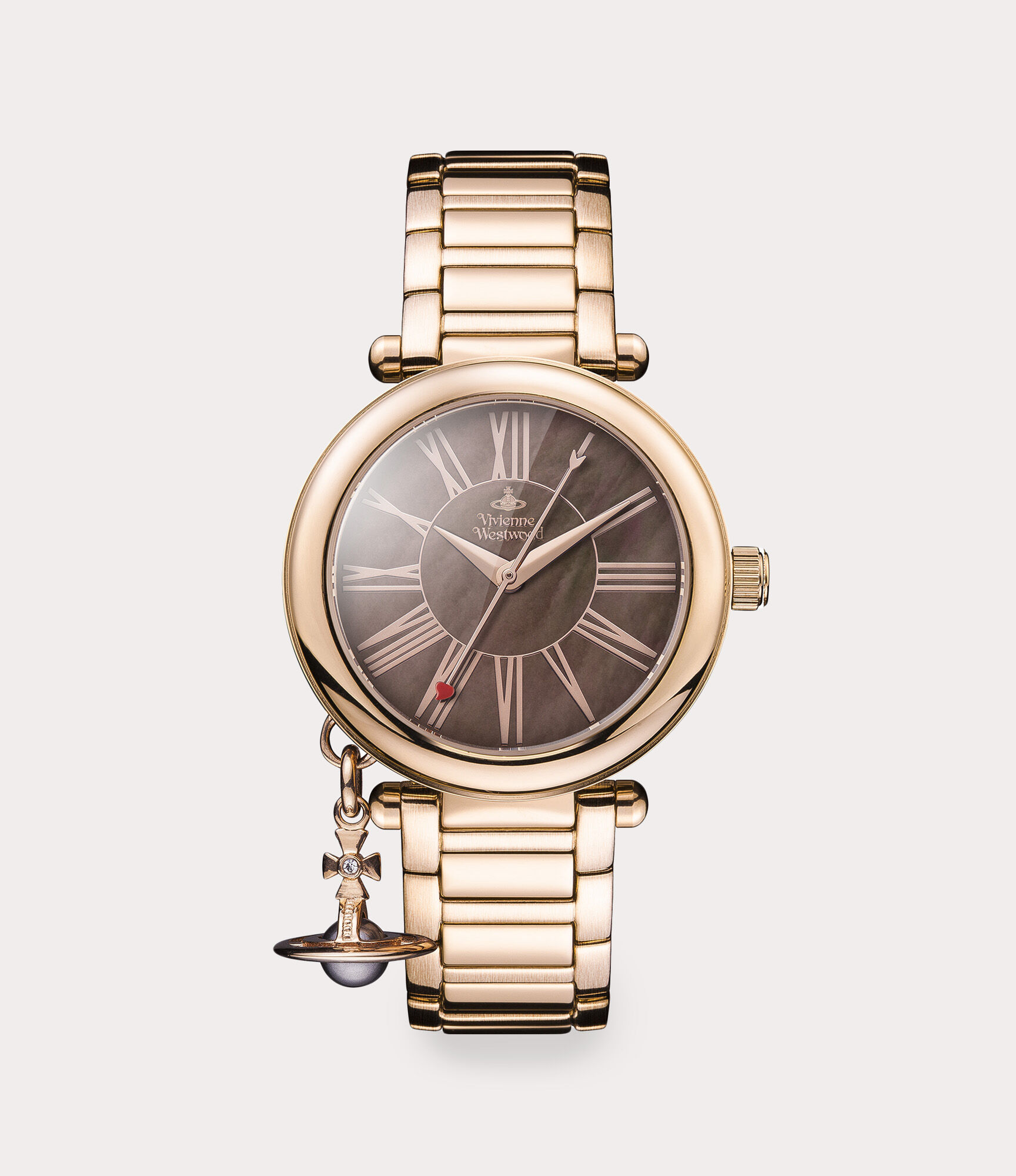 Vivienne Westwood Schmuck Uhren Damen Vivienne Westwood Mother Of Orb Watch Rose Gold