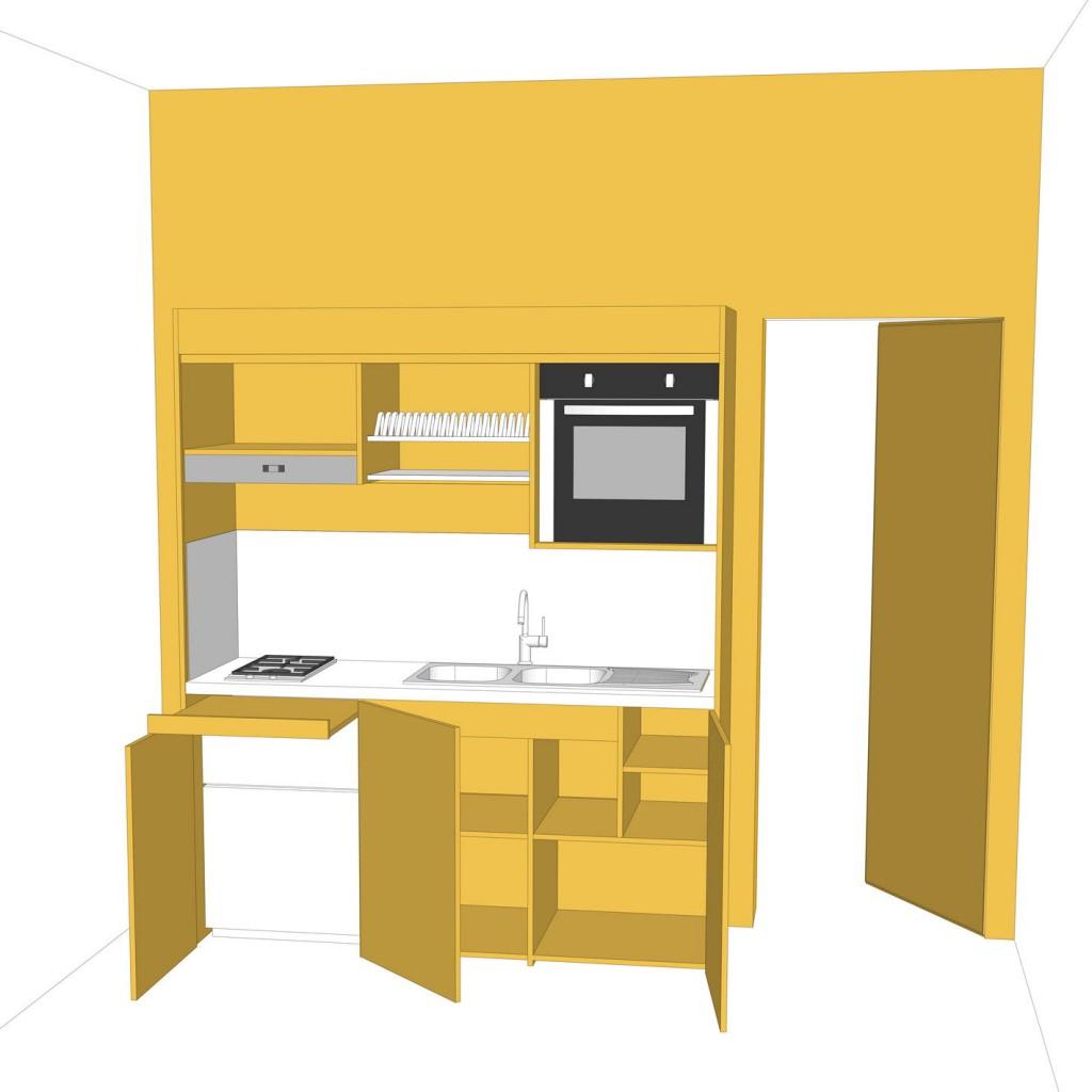 Cucina Armadio Design