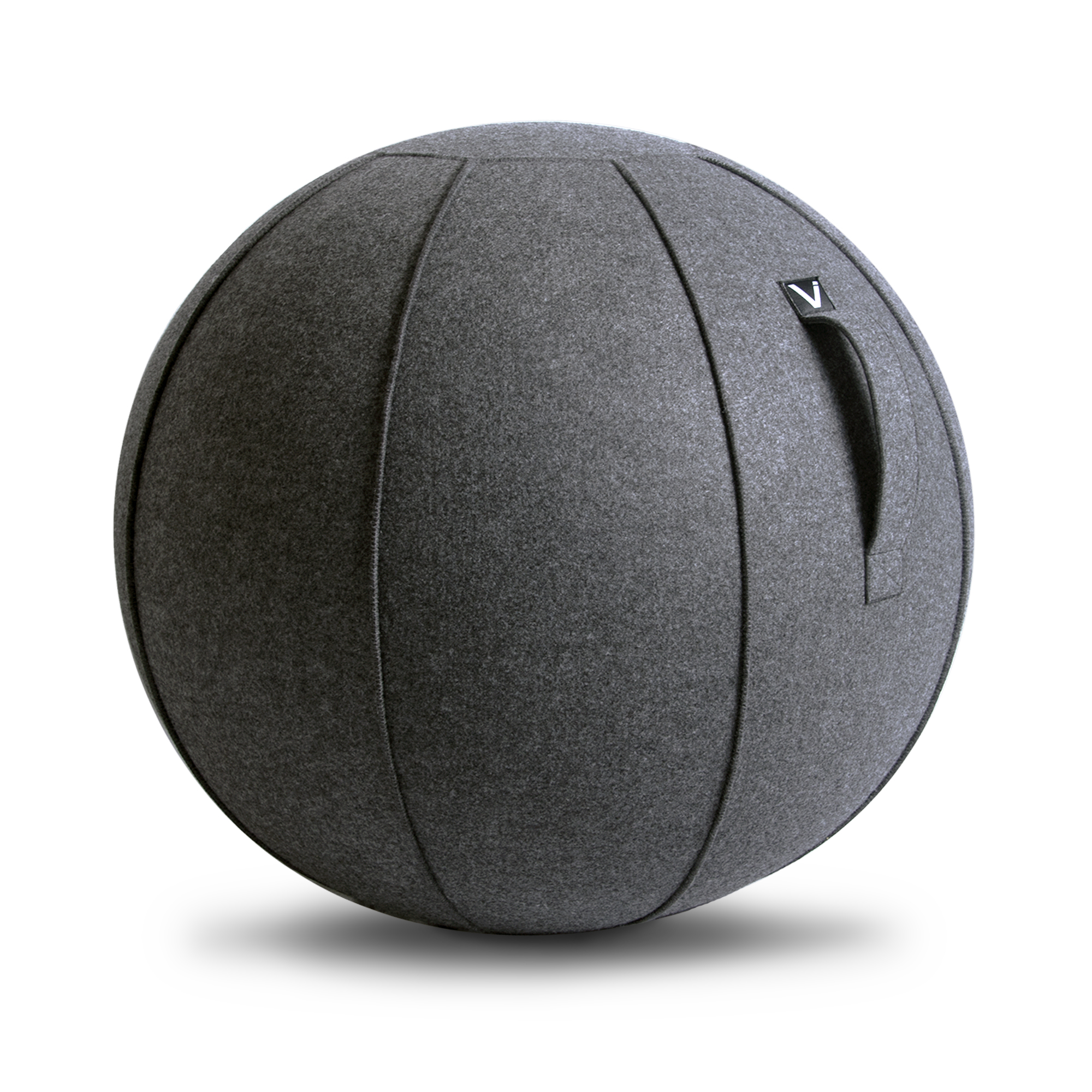 Ball Chair Office Chair Swiss Ball Pilates Physio Ball Exercise Ball Fintess Balls Pilates Fitness Chair 65cm Luno In Anthracite By Vivora