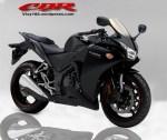 Honda CBR Black