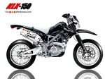 Design Modifikasi KLX Supermoto