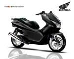 Design Modifikasi Skuter Honda PCX
