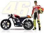 Rossi Pun Juga Make Bro CB Ala Caf Racer Wkwk Mrgreen