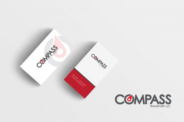 Design Of Business Card For Compass Food - Print - Other