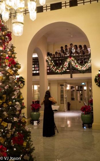 Raffles Le Royal lobby