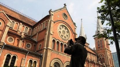 Notre Dame Basilica. Saigon. Vietnam. December 2016. Lumix GF2.