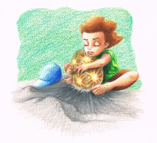 "2010. ""Phoenix Egg."" Book illustration."