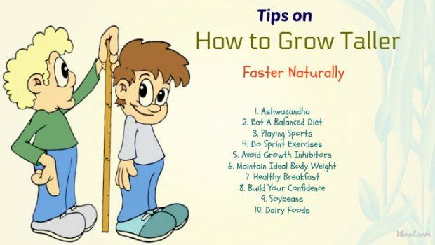 47 Tips on How to Grow Taller Faster Naturally