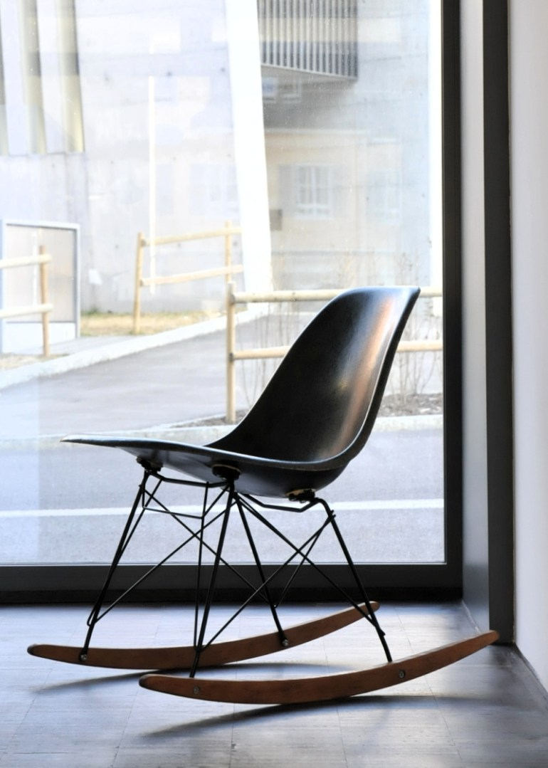 Eames RAR Rocking Chair, designed in 1950