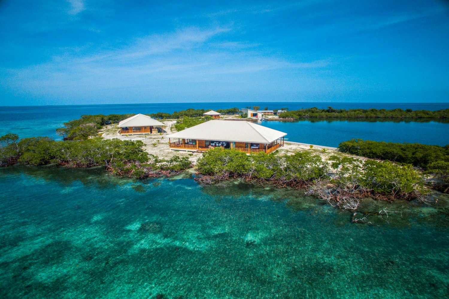 Prive Eiland Private Islands For Sale North Saddle Caye Belize