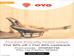 Oyo Rooms Starting From Rs. 999 + Rs. 500 Off + 1% Off On Hotels