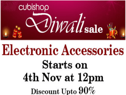 CubiShop Diwali  Sale up to 90% Off On Fashion Products & Electronics Accessories