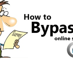 bypass online surveys