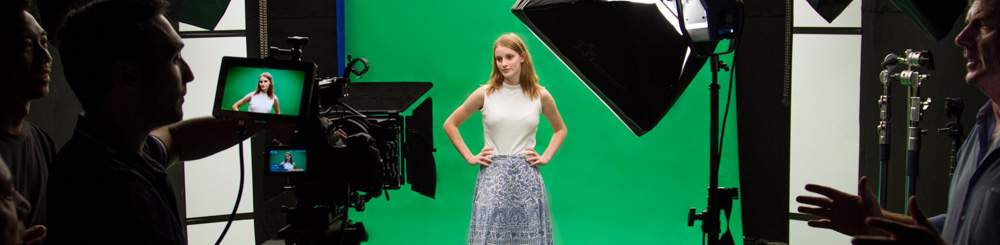 a film shoot at vmp's studio