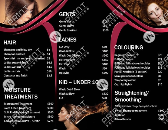 Other Businesses - VN Print Solution Nails Salon Printing  Design