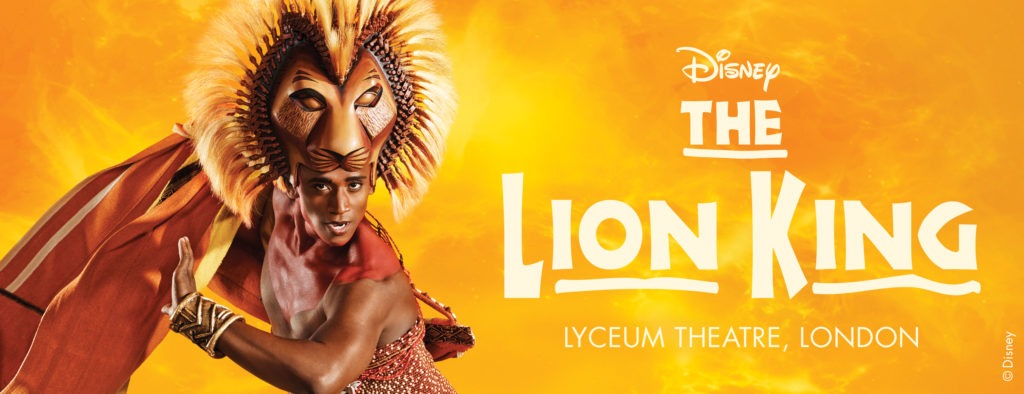 the lion king at lyceum theatre 21 wellington street london wc2e 7rq