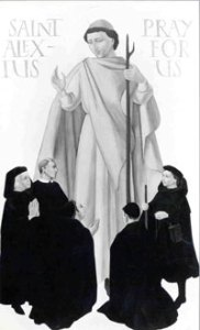 Alexian Brothers throughout the ages with St. Alexius
