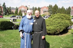 Br. James (l) and Br. Paul O'Donnell, f.b.p.