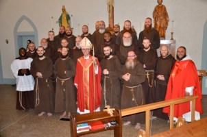 Franciscan Brothers Minor Group Bishop 1