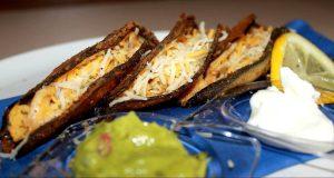 tacos de berenjena