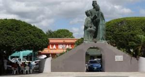 Plaza pública de Juana Díaz.