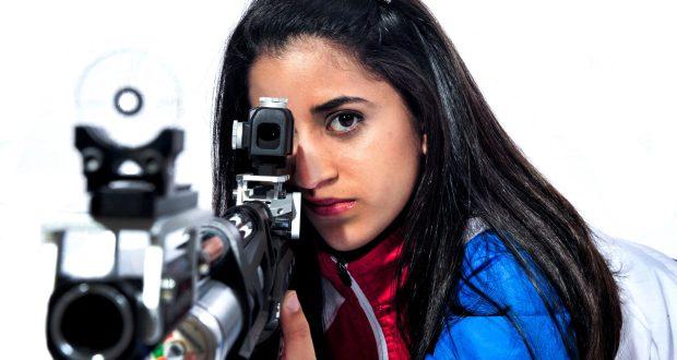 Yarimar Mercado ganó medalla de bronce en la modalidad de Rifle 3 posiciones en los 50 metros en los Juegos Panamericanos de Toronto 2014.