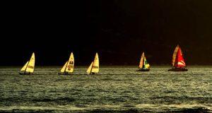 Durante el Festival Costero se realizará una regata de embarcaciones de vela.