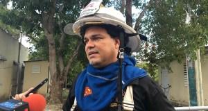 Ángel Crespo Ortiz, director ejecutivo de la Agencia Estatal para el Manejo de Emergencias y Administración de Desastres y jefe del Cuerpo de Bomberos de Puerto Rico. (Voces del Sur)