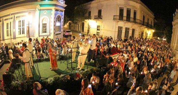Cantata a la Virgen de Guadalupe durante Las Mañanitas en el casco urbano de Ponce. (Suministrada / Municipio Autónomo de Ponce)