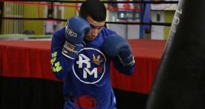 Rubén O'Neill Mass se mantiene invicto en el boxeo profesional. (Voces del Sur)