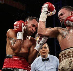 """Edgardo """"Eggie"""" Laboy Ortiz derrotó por decisión unánime a Eliezer Agosto Ruiz."""