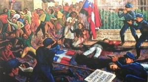 Pintura de Fran Cervoni, 1989. (Voces del Sur)