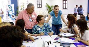 La secretaria de Educación, Julia Keleher, se comprometió a atender con prioridad el Plan Educativo Especializado (PEI) para los estudiantes de educación especial en Ponce.