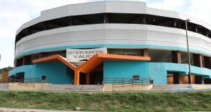 """Estadio Municipal Mario """"Ñato"""" Ramírez de Yauco. (Voces del Sur)"""