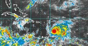 Imagen del radar. (Centro Nacional de Huracanes)