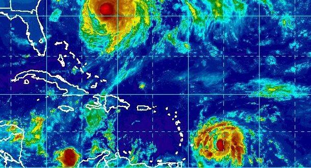 El boletín de las 8:00 a.m. de Centro Nacional de Huracanes de Estados Unidos ubicó al fenómeno atmosférico en la latitud 13.3 N y longitud 55.6 O