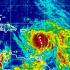 A las 11:00 p.m. el huracán María fue localizada en la latitud 15.5 N y longitud 61.5 .