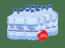 25% скидка на доставку воды!