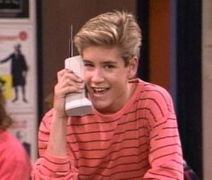 I'm looking a you Zack Morris.
