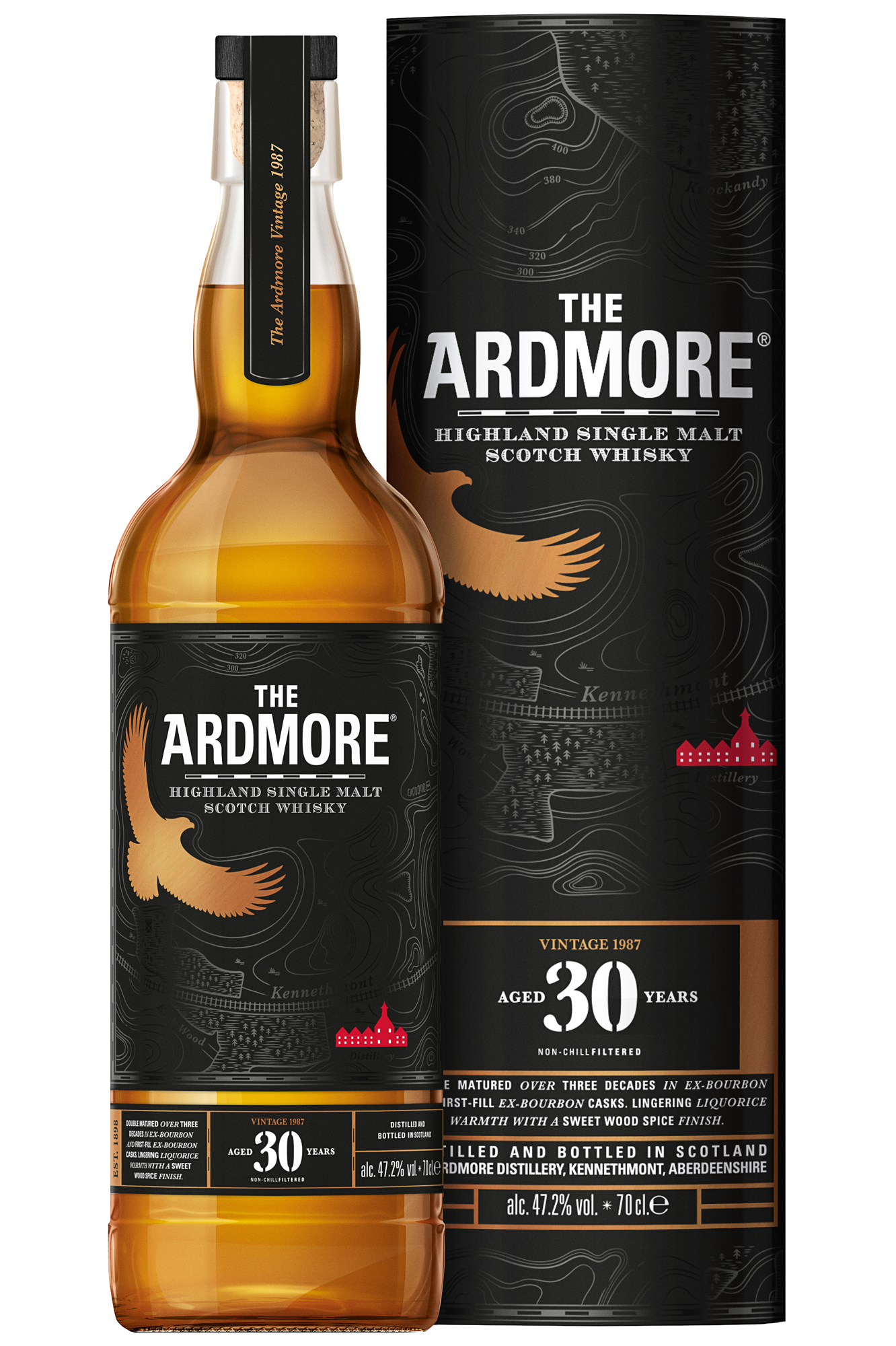 Scotch Gläser Ardmore 30 Jahre - Limited Edition -scotch Whisky - Vodka Haus